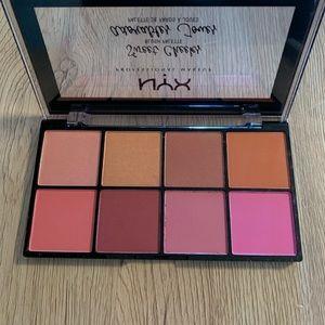 NIB Nyx sweet cheeks face palette